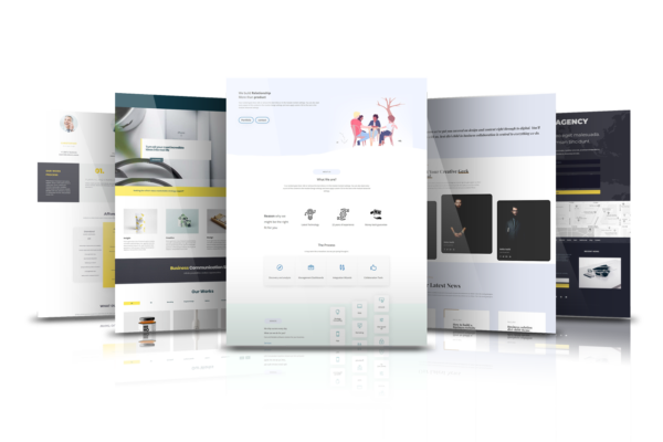 5 Divi Child Theme Combo Pack 1